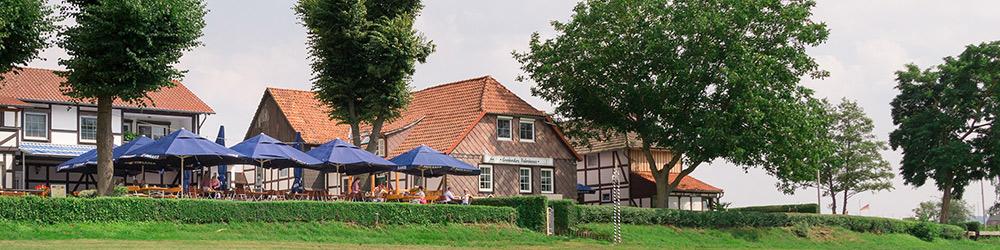 Biergarten Grohnde Emmerthal Hameln Weser